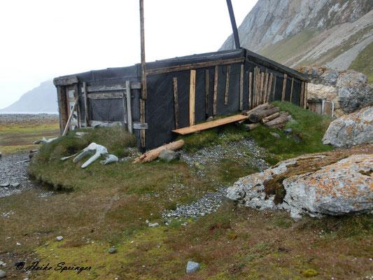 Trapperhütte aus den 30-iger Jahren