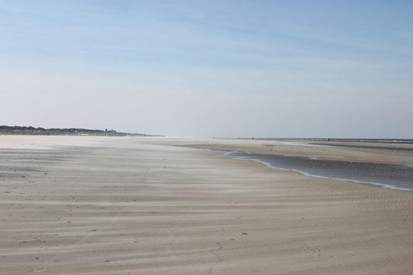 endlos langer Sandstrand