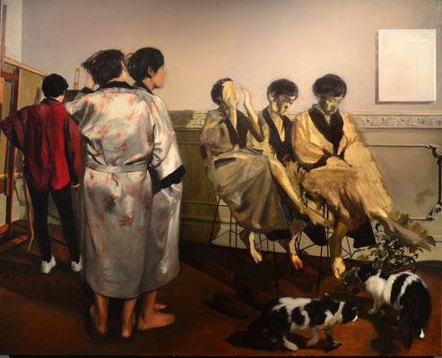 Alegorías I- variación. óleo sobre lienzo. 2015