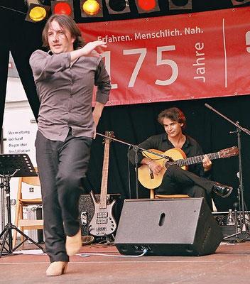Jorge San Telmo + Bino Dola live in Grünberg im August 2009