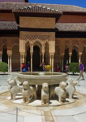 Ausflug nach Granada - Alhambra