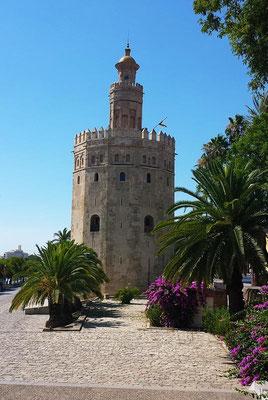 Ausflug nach Sevilla - Torre del Oro