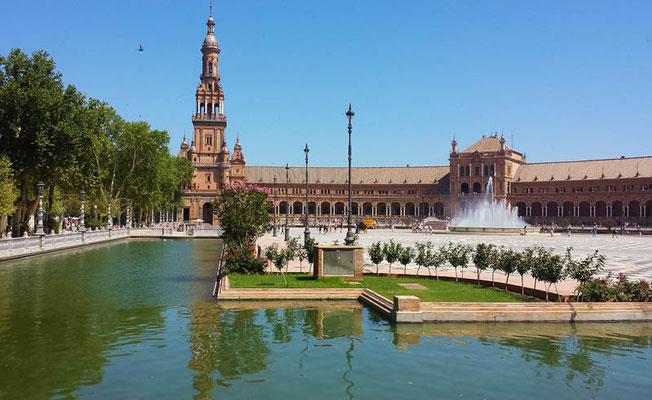 Ausflug nach Sevilla - Plaza de España