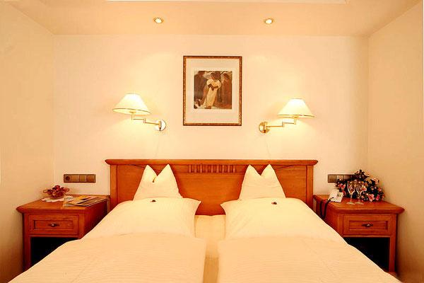 Das Doppelzimmer Standard im Hotel Sonnenbichl, Oberallgäu