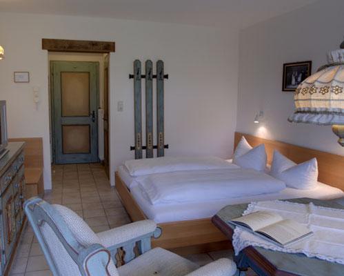 Das Zimmer Walsertal im Naturhotel Lärchenhof