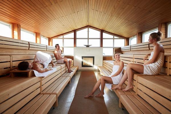 Sauna der Dünentherme St. Peter Ording