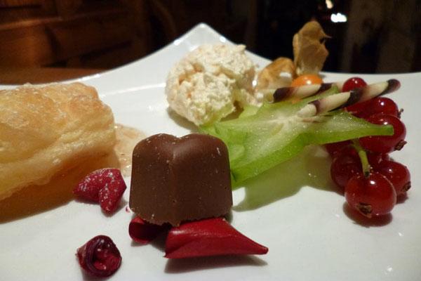 Dessertbeispiel Restaurant Hotel Sonnenbichl****, Langenwang/ Fischen