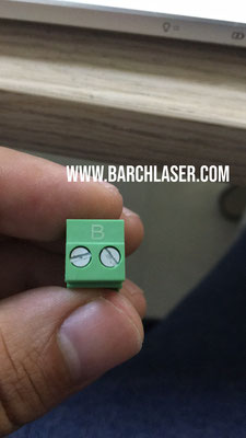 plastic engraving with laser fiber