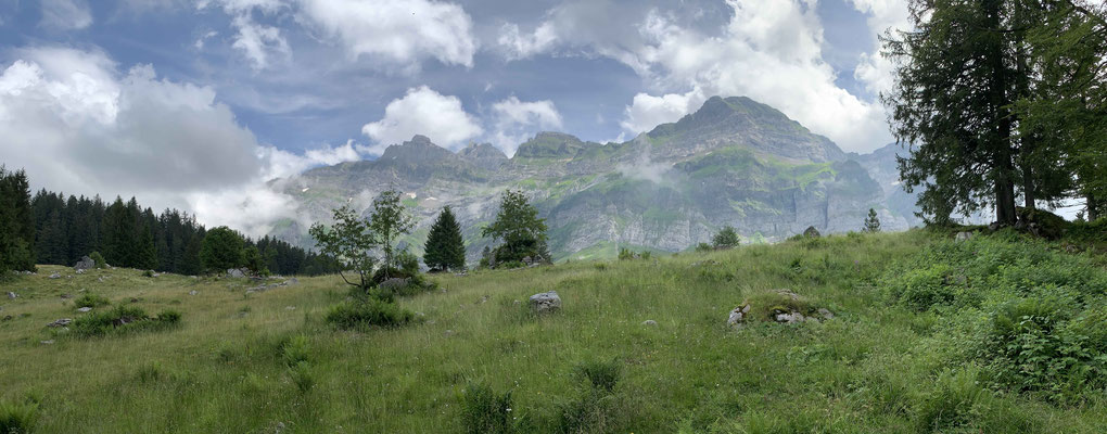 Phantastische Sicht auf das Alpsteingebirge