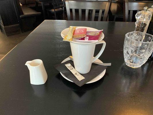 Ich Nicht-Teetrinker trinke ein Tee-Creme!