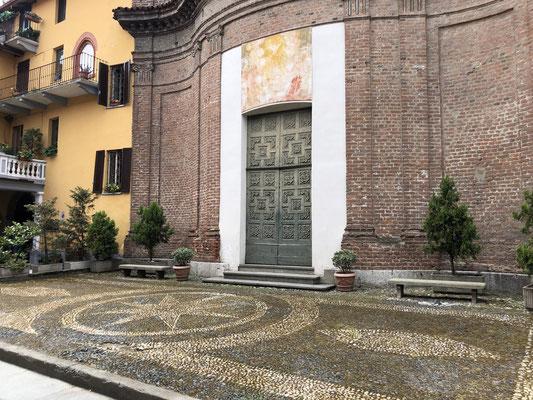Castiglione Torinese: Kaffehalt...