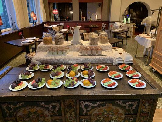 Frühstücksbuffet in Zeiten von Corona