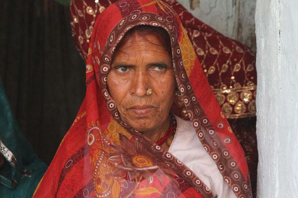 2012 Indien - glückliche Mutter