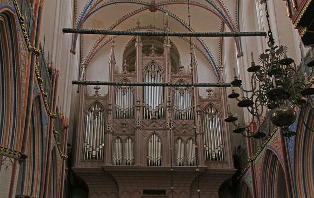 Die Buchholz-Orgel stammt aus dem Jahr 1841.  Mit drei Manualen (3873 Pfeifen), Pedal und 56 Registern ist sie eine der grössten Buchholz-Orgeln, die erhalten geblieben sind. In ihr hätte ein Haus mit 10 Zimmern Platz.