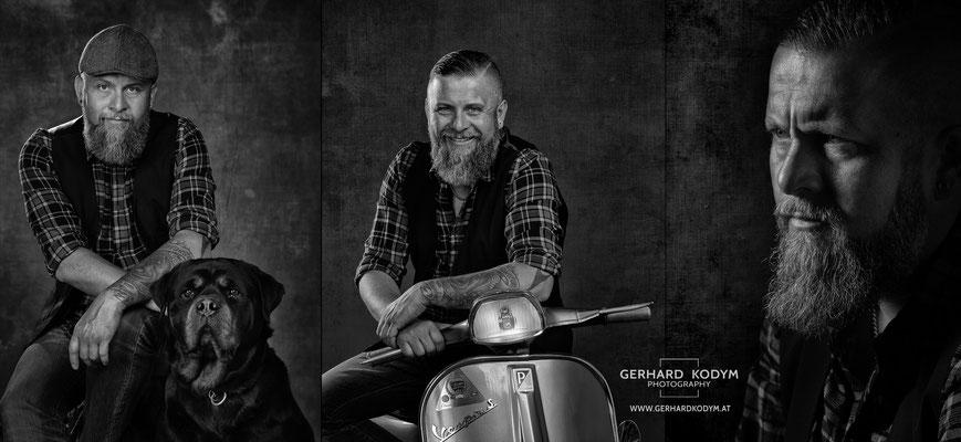 'bearded' Rainer