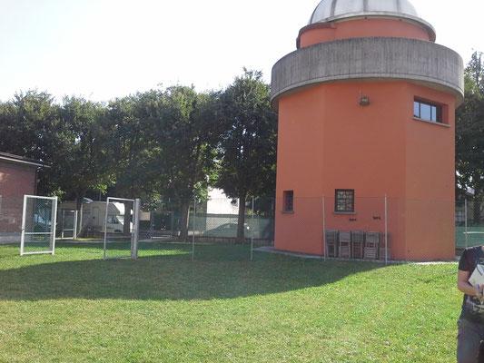 La misura dell'ombra dell'osservatorio