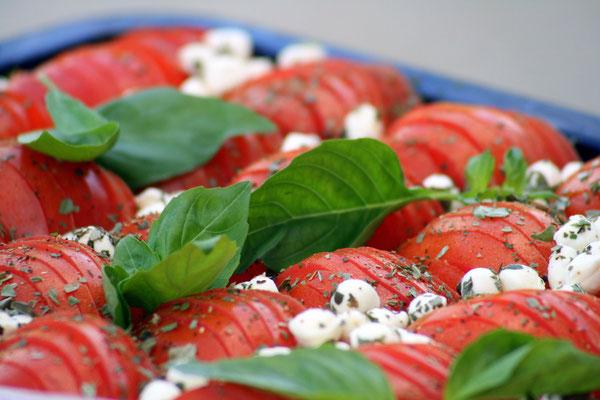 Feien Salate auch als Buffet