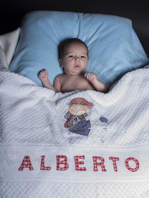Alberto con el fotógrafo