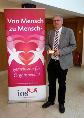 Leiter des Evangelischen Büro Saarland Kirchenrat Frank-Matthias Hofmann