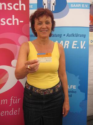 Oberbürgermeisterin der Landeshauptstadt Saarbrücken Charlotte Britz