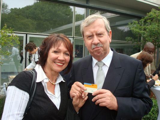 Ehemaliger Gesundheitsminister des Saarlandes, Georg Weisweiler