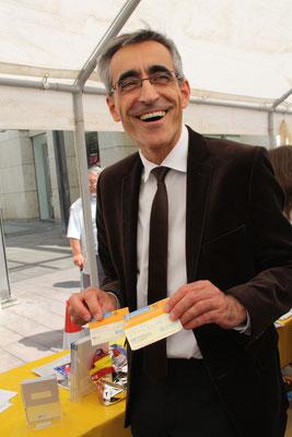 Präsident der Ärztekammer des Saarlandes, Sanitätsrat Dr.med.  Josef Mischo