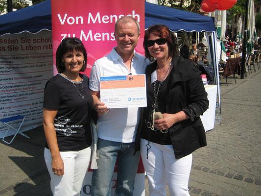 Intendant des Saarländischen Rundfunks, Thomas Kleist mit Gattin