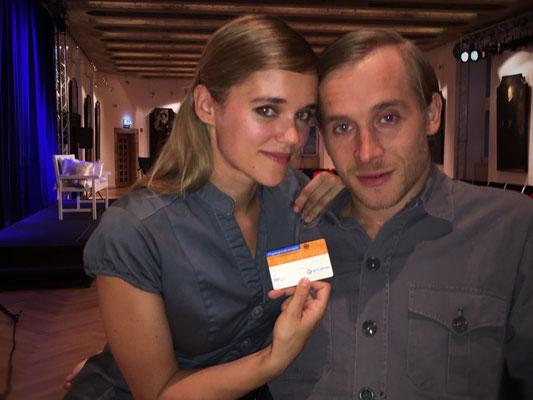 Sarah Elena und Samuel Koch, Schauspieler