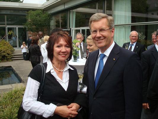 Ehemaliger  Bundestagspräsident, Christian Wulff