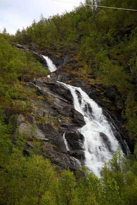 Die Wasserfälle an der E6
