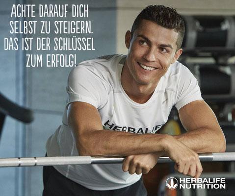 Cristiano Ronaldo, steigere deine sportliche Leistung