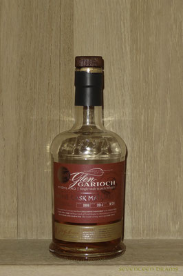 Glen Garioch 1998 vintage, 48 v%, bottled 2014, Bach No. 24, matured in wine casks 12.50 komplex und füllig