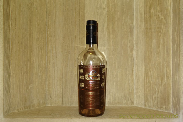 """The Six Isles, Pure Island Mal Whisky, 46 v%, 2003 vintage, bottled 2010, Pomerol cask finish, Casks no. 90631 - 90638, LE 3266 bottles, contains destilates from Islay, Jura, Skye, Mull, Orkney and Arran"""" - 11.5 - schöner Rauch, fruchtiges Aroma"""