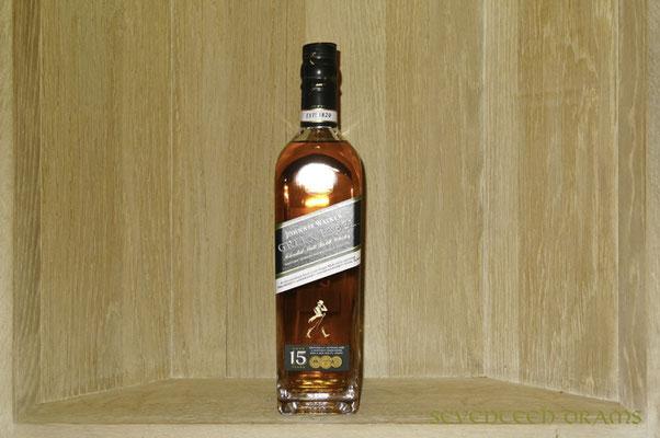 Johnny Walker Green Label 15 y, 43 v%, blended Malt (Talisker, Linkwood, Cragganmore, Caol Ila) - 10.5 - vielversprechend, im Gaumen bitter, entäuschend kurzer Abgang
