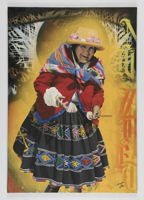 Spinnerin / Peruanerin
