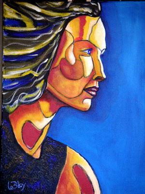 Espoir : peinture acrylique sur toile 30 x 40 cm