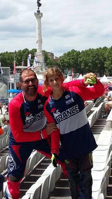 Championnat d'Europe à Bordeaux - 15 et 16 juillet 2017