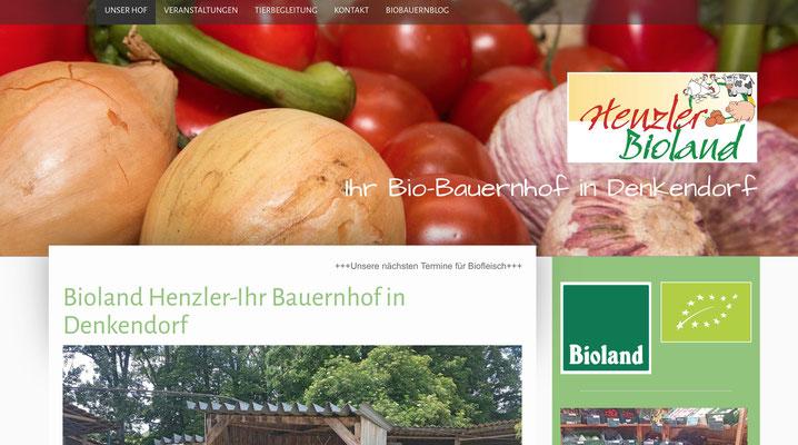 Bioland Henzler - Der Biobauernhof in Denkendorf