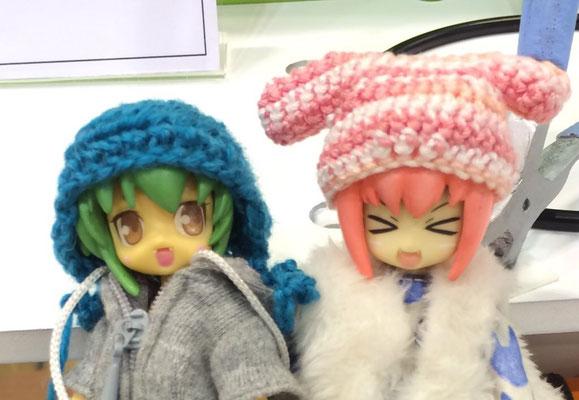 TF in 神戸7(2016.11.8)で販売した帽子。