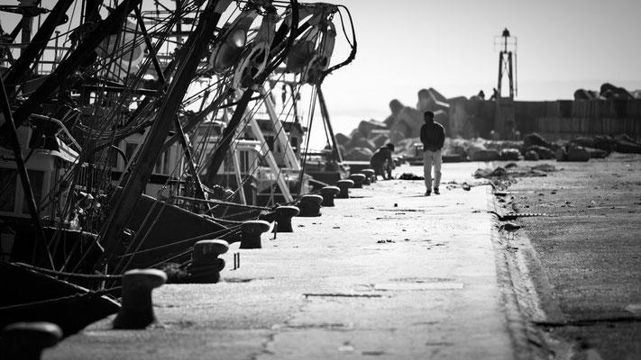 Essaouira fishing boats