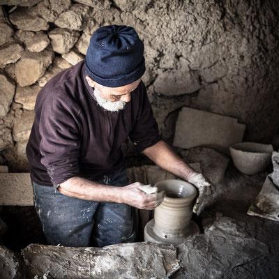 Marocain local ceramist