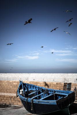 Essaouira fisher boat