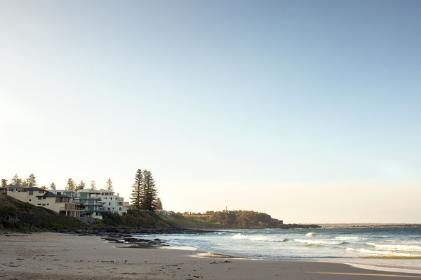 Main Beach in Yamba, Australien (c) Salomé Weber