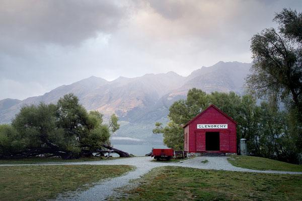 Das berühmte Bootshaus in Glenorchy am Lake Wakatipu, Neuseeland (c) Salomé Weber