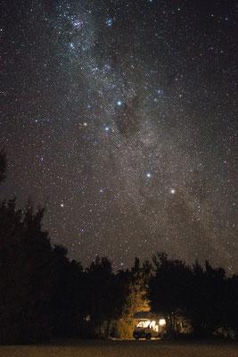Sternenhimmel über Nelson Lake Nationalpark, Neuseeland (c) Salomé Weber