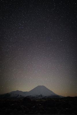 Sternenhimmel über dem Tongariro Nationalpark, Neuseeland (c) Salomé Weber