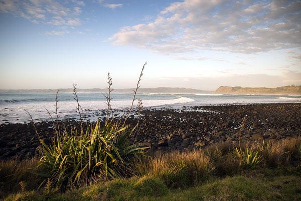 Sonnenuntergang in Raglan, Neuseeland (c) Salomé Weber