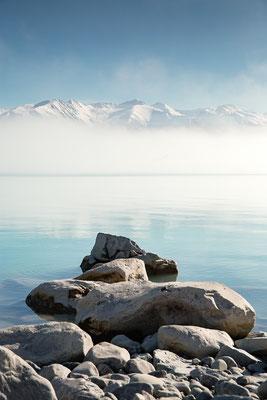 Nebel auf dem Lake Pukaki, Neuseeland (c) Salomé Weber