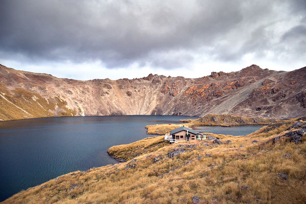 Angelus Hut im Nelson Lake Nationalpark, Neuseeland (c) Salomé Weber