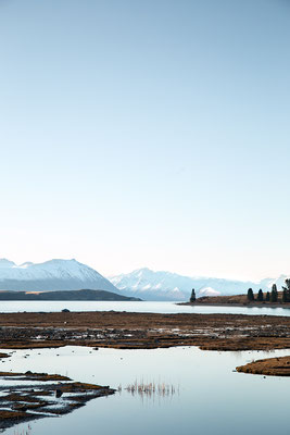 Winter am Lake Tekapo, Neuseeland (c) Salomé Weber